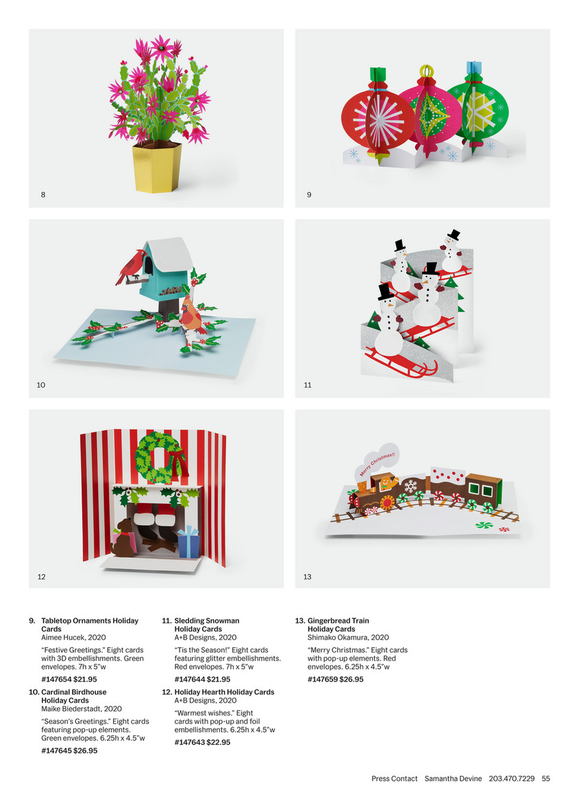 Moma Christmas Cards 2020 Catalog | MoMA Design Store   MoMA Design Store Fall LookBook 2020